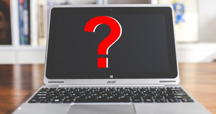 brak obrazu w laptopie